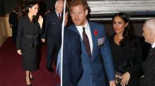 Meghan Markle's tights for Remembrance Day outfit leave fans confused