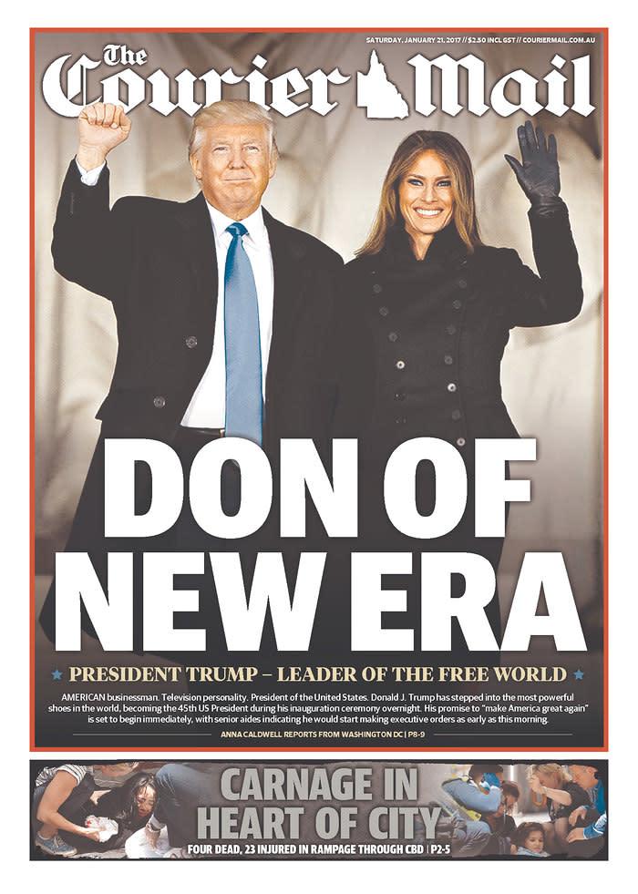 <p>Courier-Mail, Brisbane, Australia. (newseum.org) </p>