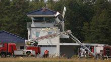 Polizei und Feuerwehr: Blaulicht-Blog: Sportflugzeug kracht in den Lotsenturm