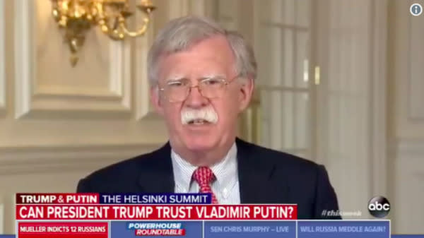 John Bolton Grilled About White House Decision To Cancel His CNN Interview