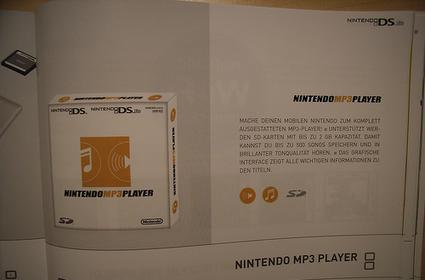 Will we see a DS MP3 player this October?