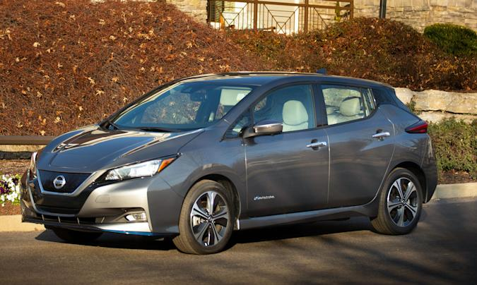 Nissan's Leaf S is now the cheapest EV in the US at $27,400
