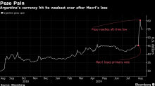 Peso Slump Turns Argentina Into a Bargain -- at Least for a Day