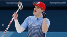 Olympic curler Matt Hamilton got Team USA an awesome gift for his birthday