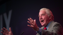 Watch: Dennis Skinner tells Labour conference that he wants to 'nationalise something every week'