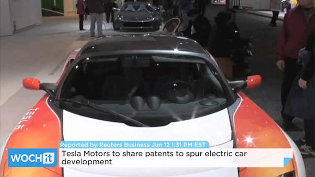 Tesla Motors To Share Patents To Spur Electric Car Development