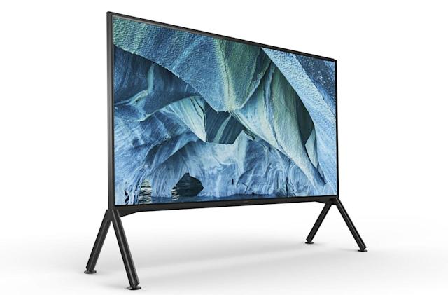 Sony's 98-inch 8K TV will cost a staggering $70,000