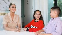 Watch Jennifer Lopez's Kids Emme and Max, 11, Interview Her in Adorable 'Twin Talk' Video