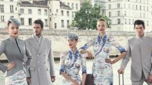 Chinese airline ups its style game with couture cabin crew uniforms