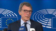 Vertice Ue, Sassoli: preoccupati, conclusioni siano all'altezza