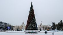 Costly holiday tree scandalises Russian coal town