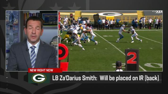 Rapoport: Packers placing Za'Darius Smith on injured reserve