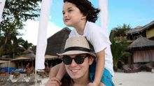 Richard Gutierrez says no to Zion becoming a child star