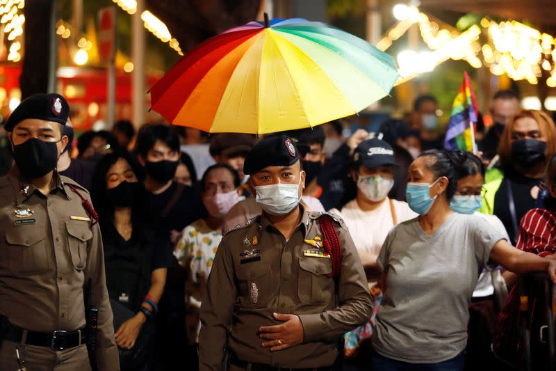 Pro-democracy protest in Bangkok