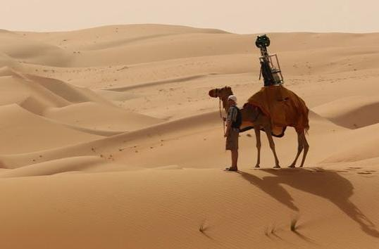 Tour one of Earth's grandest deserts in Google Street View