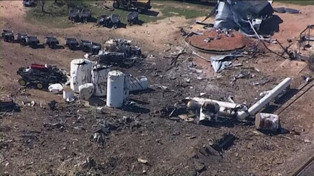 12 dead, 60 missing in Texas factory blast