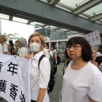 Hong Kong elders march in support of young demonstrators