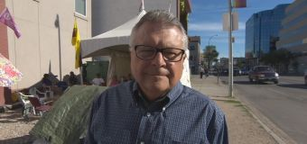 Protest group 'Colonialism No More' meets Ralph Goodale
