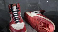 Als Jordan den Korb zerstörte: Nächster Rekord für Sneaker?