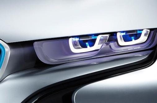 BMW developing laser headlights, officially over LEDs