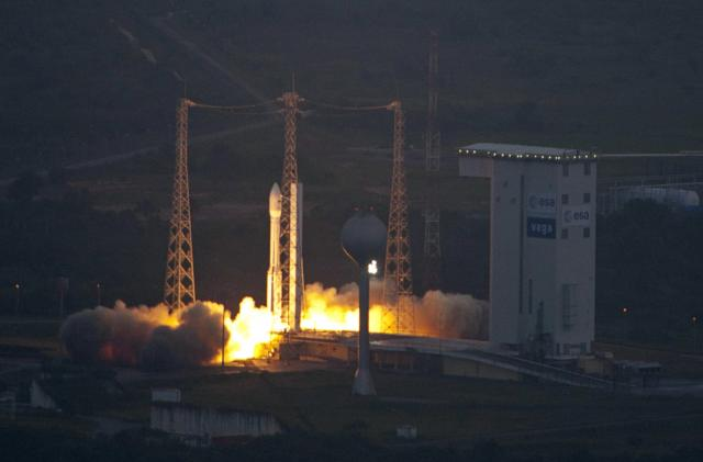 The largest-ever solid rocket engine is ready for its first static fire