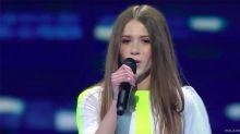 La ganadora de 'La Voz Kids' de Polonia gana el Eurojunior 2018