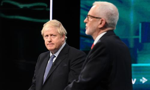 Election debate: Johnson and Corbyn clash over NHS future