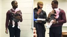 Uni teacher watches student's baby so he can concentrate in class