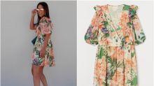 El vestido 'low cost' de Paula Echevarría que combina varias tendencias