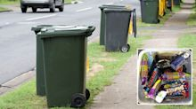 Woman's kind gesture after seeing man going through her bin