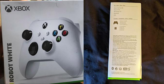 Xbox series S console revealed by controller packaging