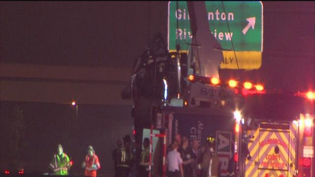 Fatal crash at Alafia River in Gibsonton shuts down southbound I-75