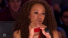 Mel B breaks into tears as she remembers late father during emotional 'AGT' performance