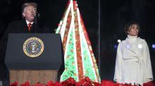 PHOTOS: President and first lady attend National Christmas Tree lighting
