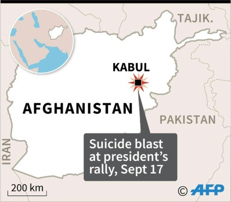 Blast outside president rally in central Afghanistan kills ...