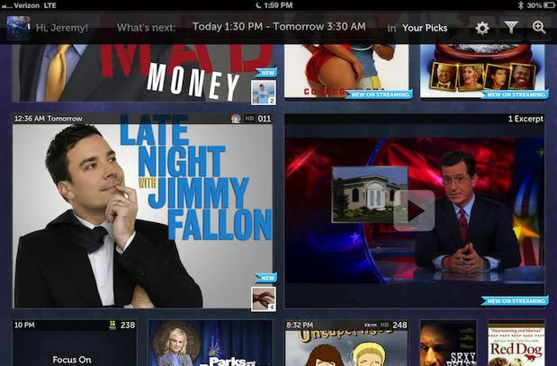 Dijit updates remote, NextGuide apps with integrated profiles, Hulu-powered videoclips