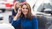 Duchess of Cambridge rewears £1,650 Eponine dress to visit South Yorkshire