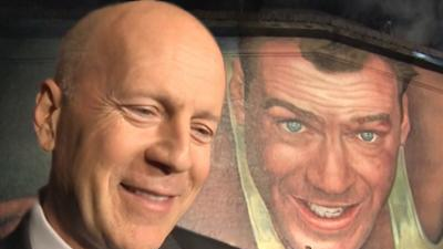 Bruce Willis Honored With Giant Mural