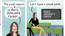 Stephen Collins on Boris Johnson – cartoon