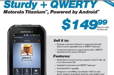 Motorola Titanium coming to Sprint on July 24th for $149, still stubbornly rocking Eclair