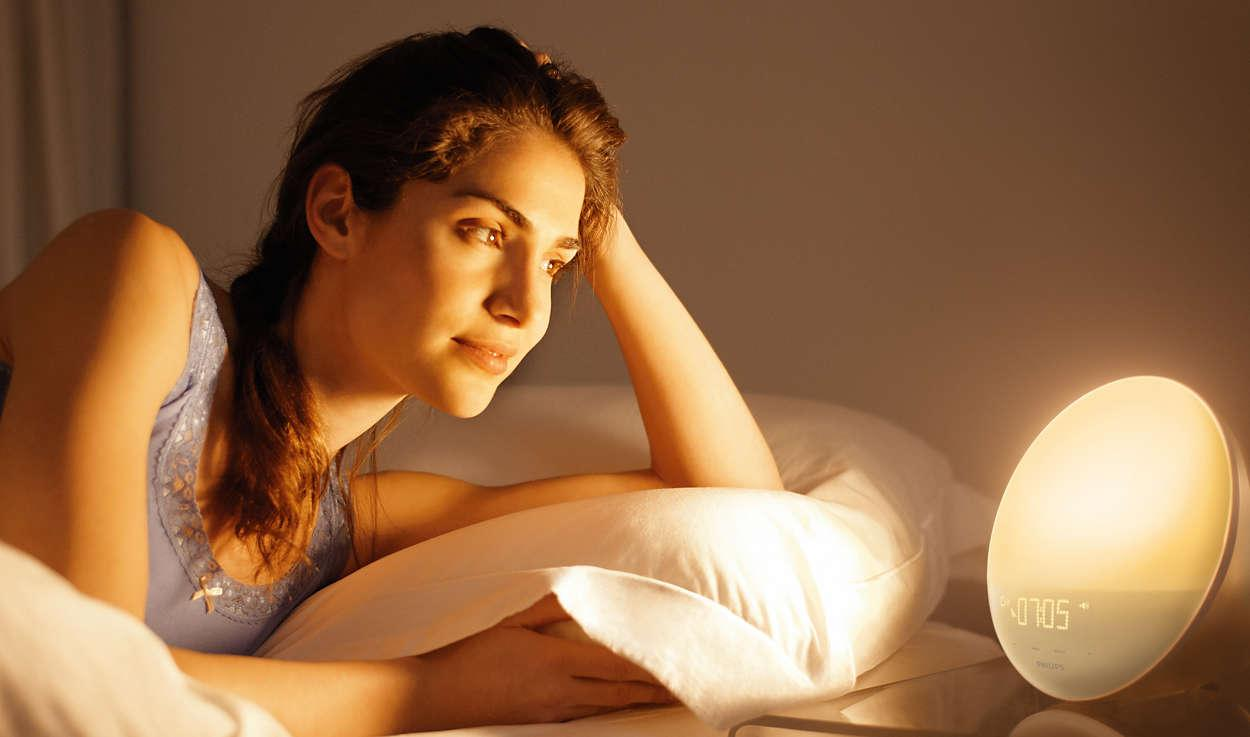 Trouble getting up in the morning? A sunrise alarm clock can help