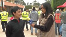 13-year-old credits earthquake drills with helping him escape collapsed school