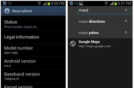 T-Mobile's latest Galaxy S II update silently removed 'universal search' feature