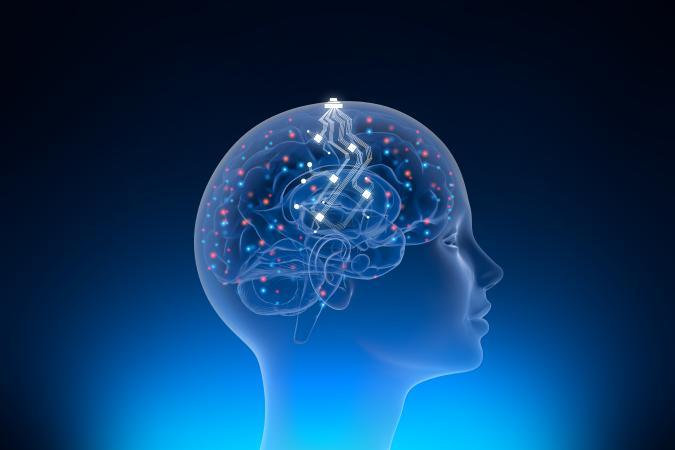 Brain to computer communication