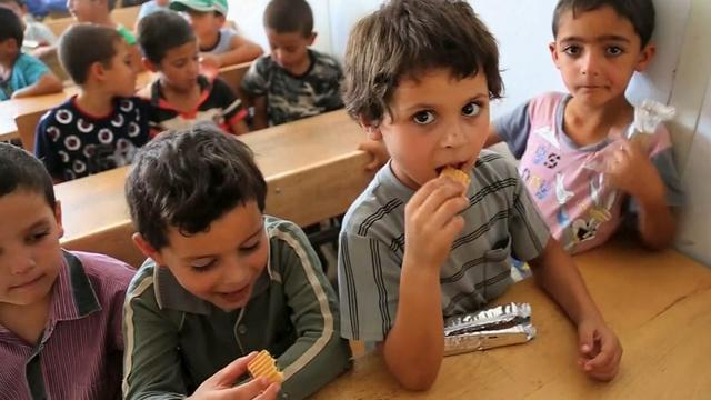 New effort in struggle to feed Syrian refugees