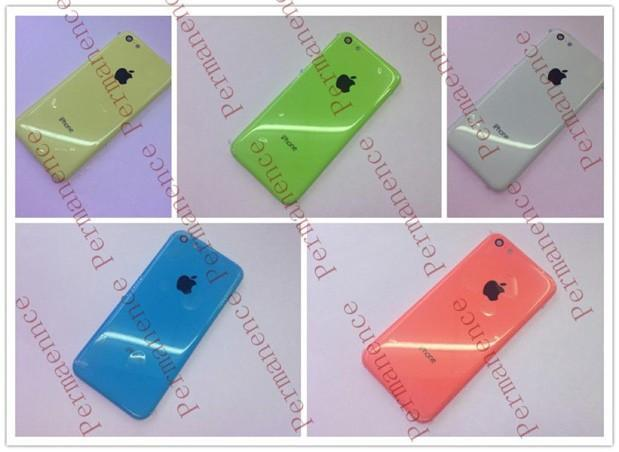Multicolored budget iPhone shows up at multiple sources in multiple hues