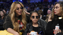 Beyoncé & Blue Ivy Just Matched Again, This Time in Golden Gowns at the Wearable Art Gala
