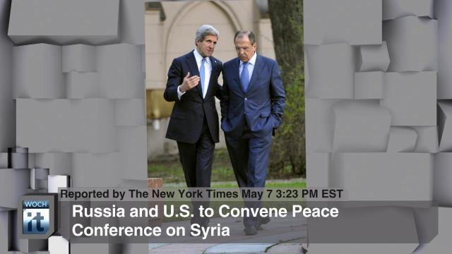 Russia and U.S. to Convene Peace Conference on Syria