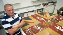 Tattered scraps turn out to be flag from Battle of Waterloo