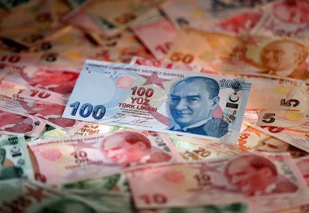 Turkish lira pulls back from record low after central bank frees up liquidity